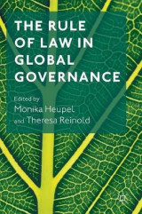 Omslag - The Rule of Law in Global Governance 2017