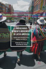 Omslag - Indigenous Women's Movements in Latin America 2017