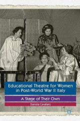 Omslag - Educational Theatre for Women in Post-World War II Italy 2017