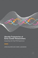 Omslag - Identity-Trajectories of Early Career Researchers