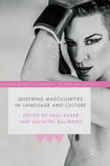 Omslag - Queering Masculinities in Language and Culture