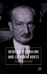 Omslag - Heidegger's Pauline and Lutheran Roots