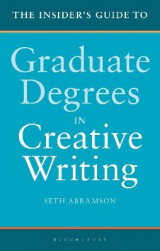 Omslag - The Insider's Guide to Graduate Degrees in Creative Writing