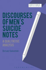 Omslag - Discourses of Men's Suicide Notes