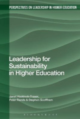 Omslag - Leadership for Sustainability in Higher Education