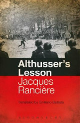 Omslag - Althusser's Lesson