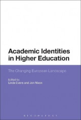 Omslag - Academic Identities in Higher Education