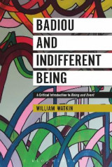 Omslag - Badiou and Indifferent Being