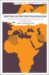 Omslag - Writing After Postcolonialism
