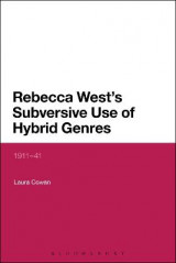 Omslag - Rebecca West's Subversive Use of Hybrid Genres