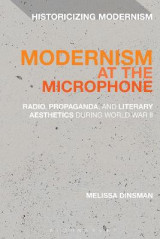 Omslag - Modernism at the Microphone