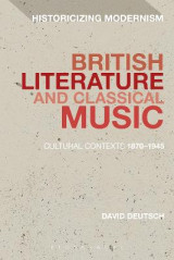 Omslag - British Literature and Classical Music