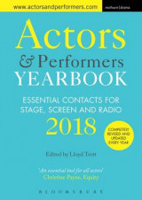 Omslag - Actors and Performers Yearbook 2018