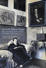Omslag - Gertrude Stein in Europe