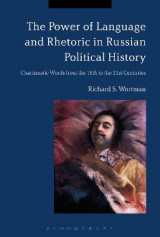 Omslag - The Power of Language and Rhetoric in Russian Political History
