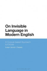 Omslag - On Invisible Language in Modern English