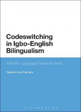 Omslag - Codeswitching in Igbo-English Bilingualism