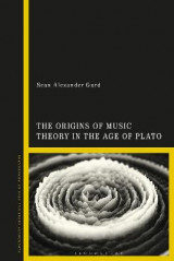 Omslag - The Origins of Music Theory in the Age of Plato