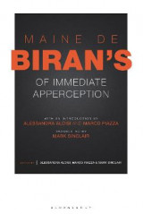 Omslag - Maine de Biran's 'Of Immediate Apperception'