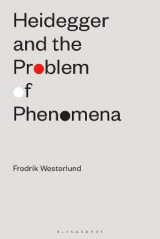 Omslag - Heidegger and the Problem of Phenomena