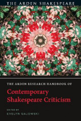 Omslag - The Arden Research Handbook of Contemporary Shakespeare Criticism
