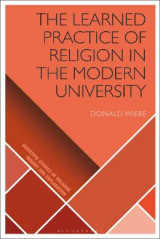 Omslag - The Learned Practice of Religion in the Modern University