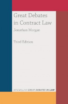 Great Debates in Contract Law av Jonathan Morgan (Heftet)