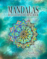Omslag - Mandalas Relaxation Coloring Book