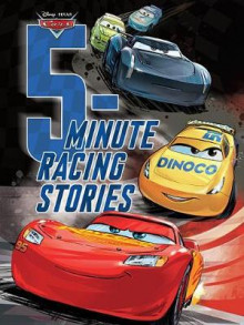 5-Minute Racing Stories av Disney Book Group (Innbundet)