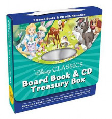 Disney Classics Board Book & CD Treasury Box av Disney Book Group (Innbundet)