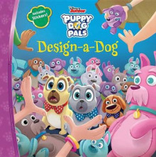 Puppy Dog Pals Design-A-Dog av Disney Book Group (Heftet)