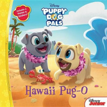 Puppy Dog Pals Hawaii Pug-O av Disney Book Group (Heftet)