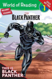 World Of Reading: Black Panther av Andy Schmidt (Heftet)