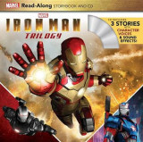 Omslag - Iron Man Trilogy Read-Along Storybook and CD