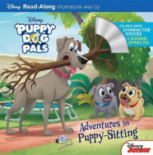 Puppy Dog Pals Read-Along Storybook and CD Adventures in Puppy-Sitting av Disney Book Group (Heftet)