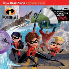 Incredibles 2 Read-along Storybook And Cd av Disney Book Group (Heftet)