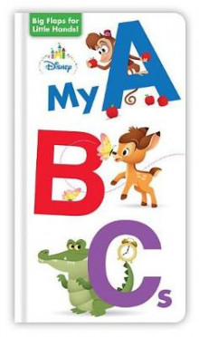 Disney Baby My ABCs av Disney Book Group (Pappbok)