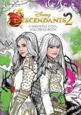Omslag - Descendants 2 a Wickedly Cool Coloring Book