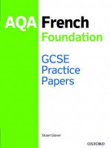 Omslag - GCSE French Foundation Practice Papers AQA - exam revision GCSE 9-1