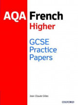 Omslag - GCSE French Higher Practice Papers AQA - Exam Revision Practice 9-1