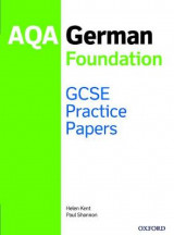 Omslag - GCSE German Foundation Practice Papers AQA - Exam Revision 9-1