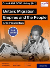 Omslag - Oxford AQA GCSE History (9-1): Britain: Migration, Empires and the People c790-Present Day Student Book Second Edition