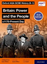 Omslag - Oxford AQA GCSE History (9-1): Britain: Power and the People c1170-Present Day Student Book Second Edition