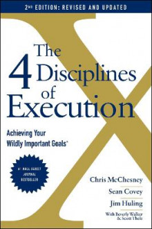 The 4 Disciplines of Execution: Revised and Updated av Sean Covey og Chris McChesney (Heftet)
