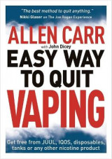 Omslag - Allen Carr's Easy Way to Quit Vaping