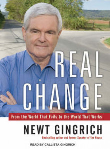 Real Change av Newt Gingrich (Lydbok-CD)