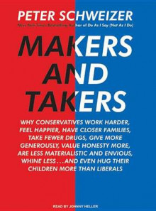 Makers and Takers av Peter Schweizer (Lydbok-CD)