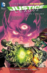 Omslag - Justice League Vol. 4 The Grid (The New 52)