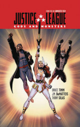 Omslag - Justice League Gods and Monsters