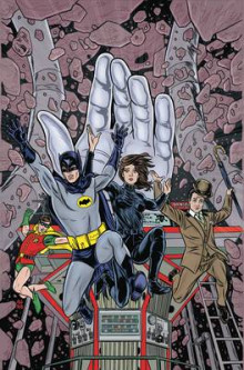 Batman 66 Meets John Steed & Emma Peel av Ian Edginton (Innbundet)